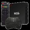 TV box Android MX9 - SmartTV 4K, seu cinema em casa